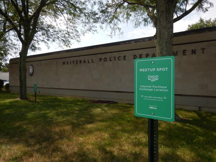 Press Release WHITEHALL POLICE CREATE INTERNET PURCHASE EXCHANGE LOCATIONS AT THE POLICE DEPARTMENT
