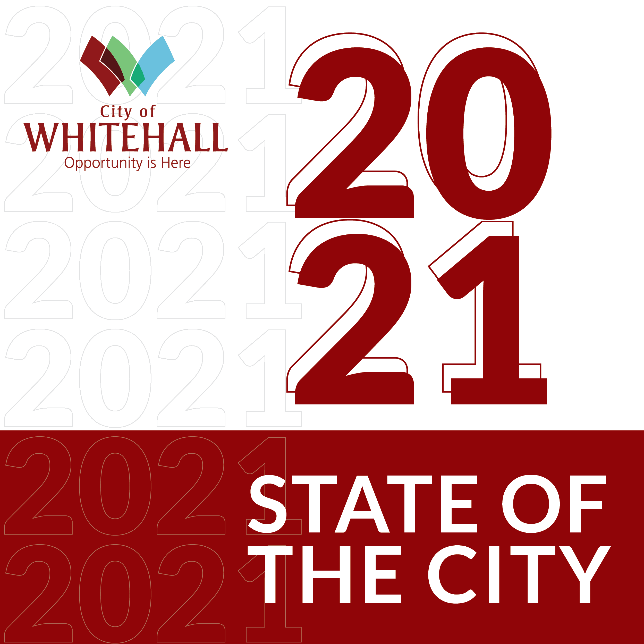 2021 State of the City Headline Image